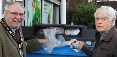 Councils link up with Cae Post to recycle plastic