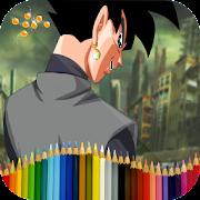 Coloring for DBS fan-art