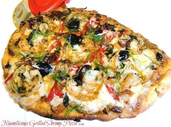 Naanilicious Grilled Shrimp Pizza Recipe