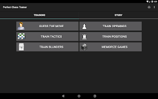 Screenshot of Perfect Chess Trainer Demo