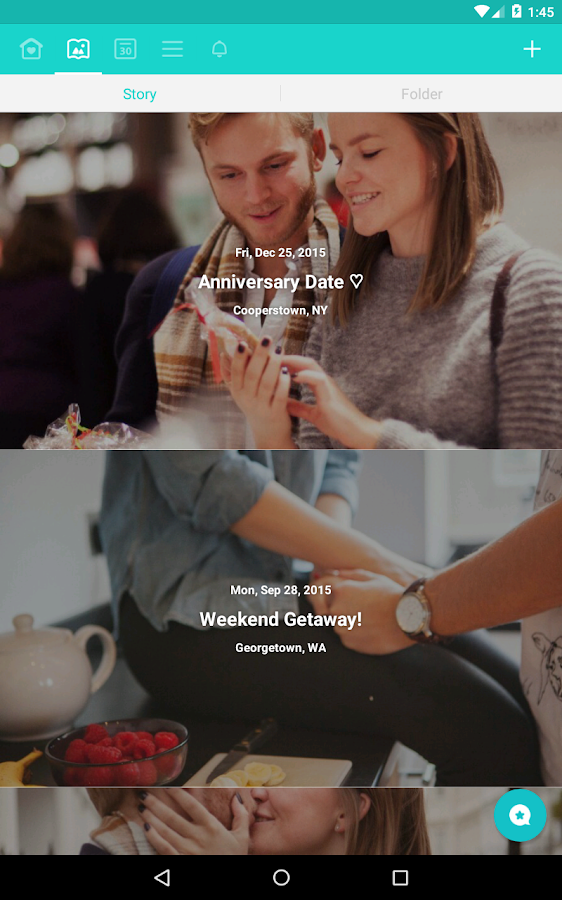 Between - Private Couples App- screenshot