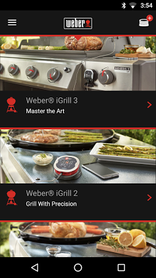 Weber® iGrill® - screenshot