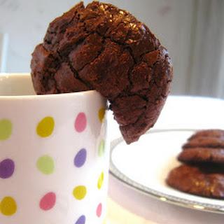 Flourless Chocolate Cookies.