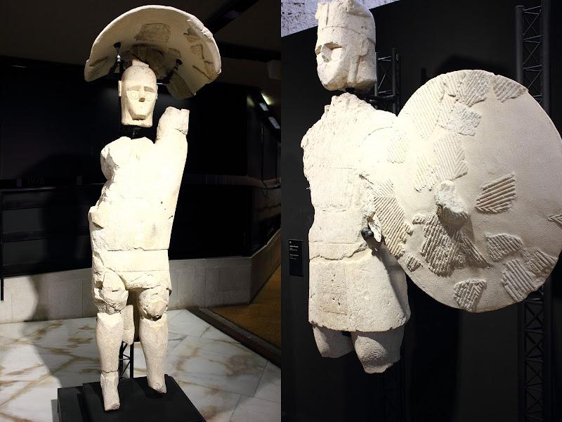 Visita al Museo-Sculture dei Giganti Mont'e Prama di ariosa