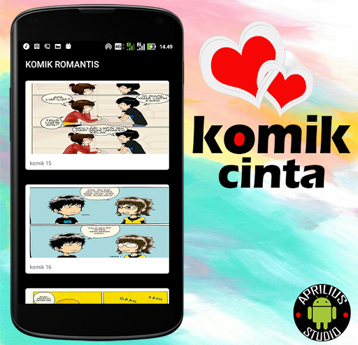 Komik Cinta for Android apk 2