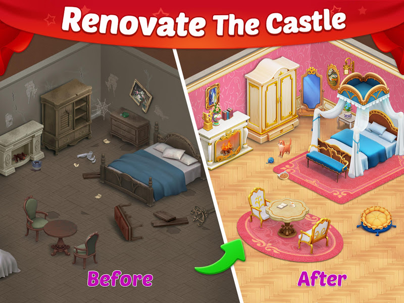 Castle Story: Puzzle & Choice Screenshot 5
