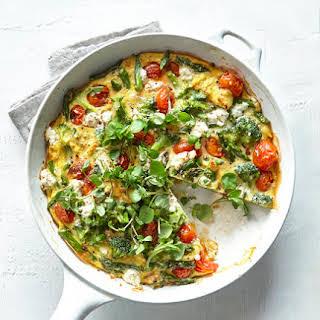 Spring Vegetable Frittata.
