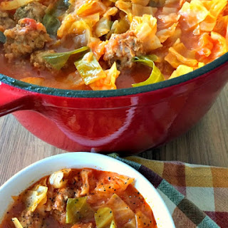 Unstuffed Cabbage Soup Recipe