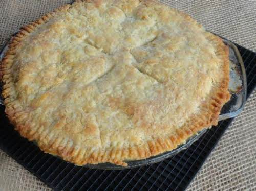 "Thanksgiving Turkey Pot Pie ""Seriously the best pot pie! The crust is..."