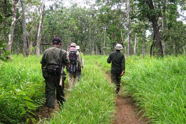Hiking in Mondulkiri
