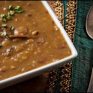 Hearty Porcini and Potato Soup