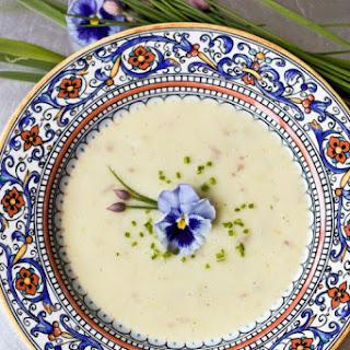 Vichyssoise (Cold Leek & Potato Soup) | JC100 – Week 5
