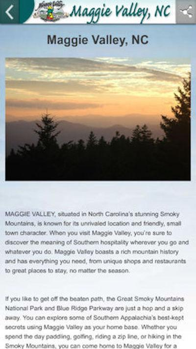 Maggie Valley- screenshot