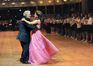 Photo: WIENER OPERNBALL 2016 (4.2.) Generalprobe. Placido Domingo, Olga Peretyatko. Copyright: Barbara Zeininger