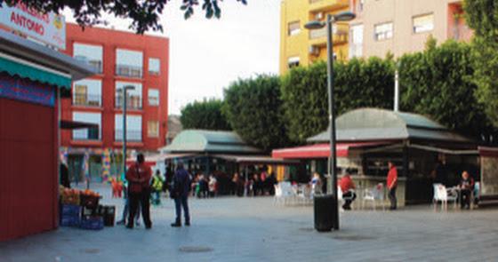 Los cuatro pilares de la Plaza de Pavía