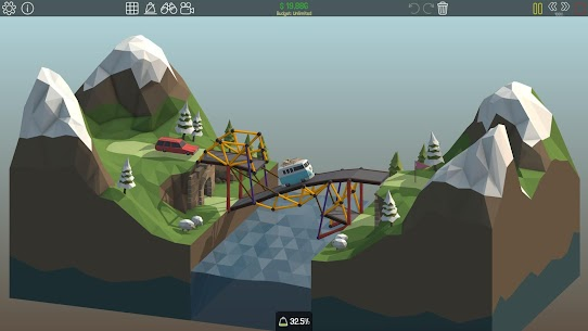 Poly Bridge Mod Apk (Bridge never break) 9