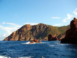 Photo: #011-La réserve de Scandola en Corse, classée au Patrimoine mondial de l'Unesco.