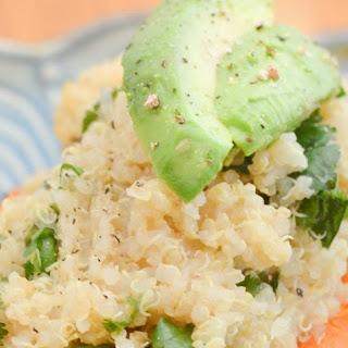 Lime + Cilantro Quinoa-Stuffed Sweet Potatoes