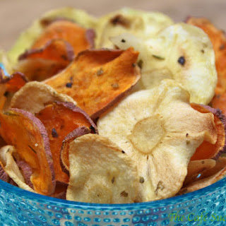 Sweet Potato and Parsnip Chips Recipe