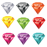 Diamond for dash Icon