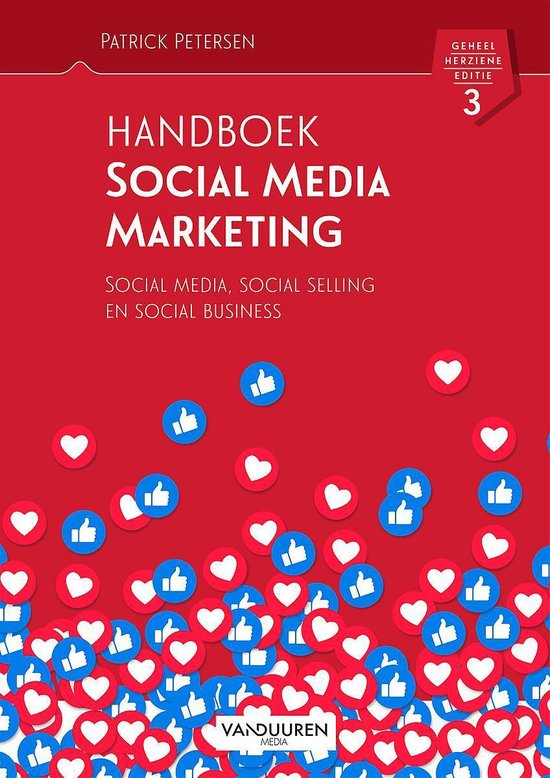 Voorbeeld boek: Handboek Social Media Marketing