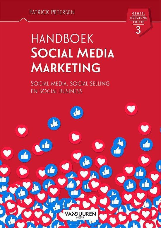 Voorbeeld boek: Handboek Social Media Marketing