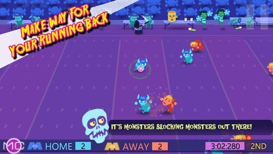 Monday Night Monsters Football Screenshot 3
