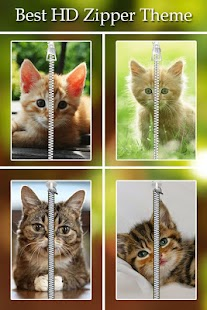 Kitty Cat Zipper Lock screenshot