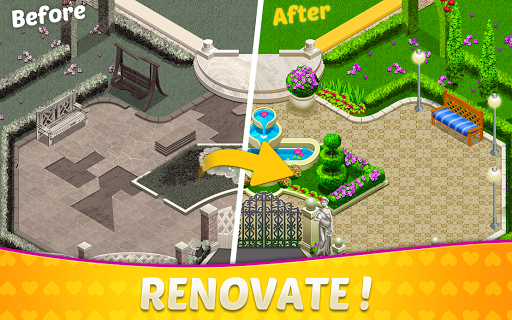 Home Design & Mansion Decorating Games Match 3 1.38 de.gamequotes.net 4