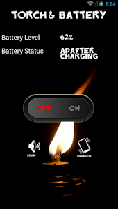 Torch and battery screenshot 0