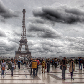 Eiffel Tower by Michael Lunn - Buildings & Architecture Statues & Monuments (  )