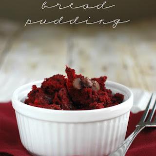 Red Velvet Bread Pudding.