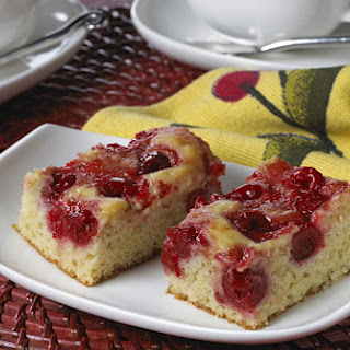 Cherry Coffee Cake.