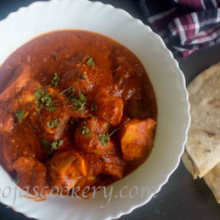 Chicken Tikka Masala Using Instant Red Curry Premix Recipe