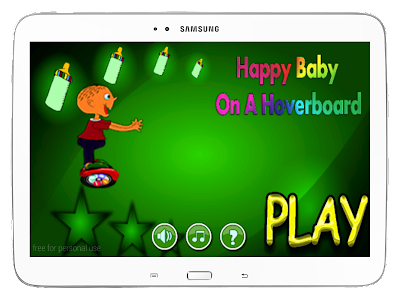 Happy Baby On A Hoverboard screenshot 8