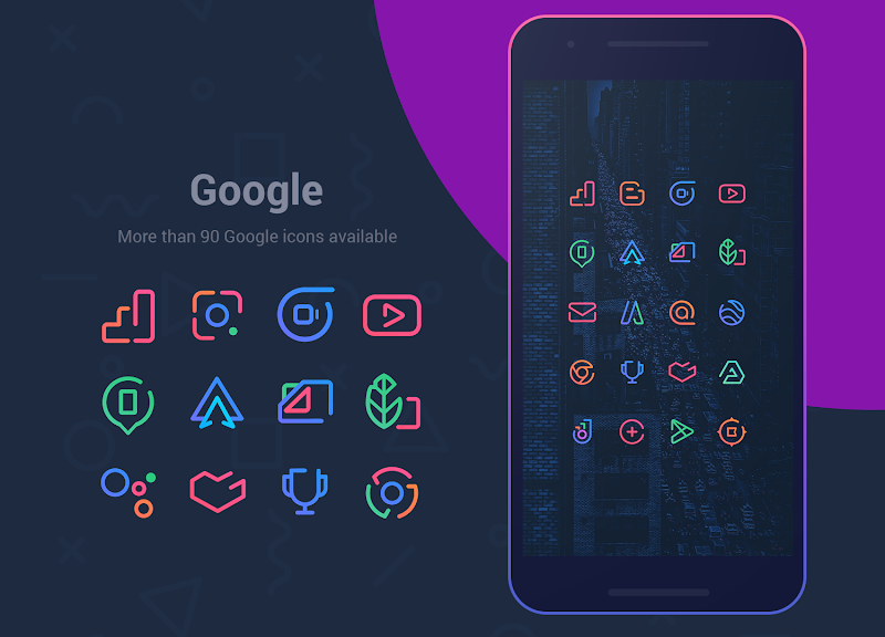 Linebit - Icon Pack Screenshot 2