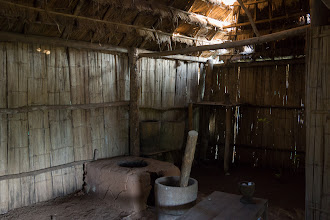 Photo: The interior of a (restored) house.