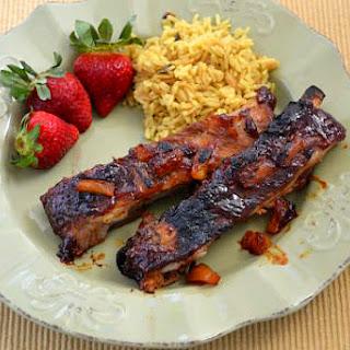 Crock Pot Hawaiian BBQ Ribs Recipe