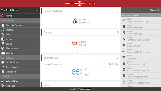 Vector Security- screenshot thumbnail