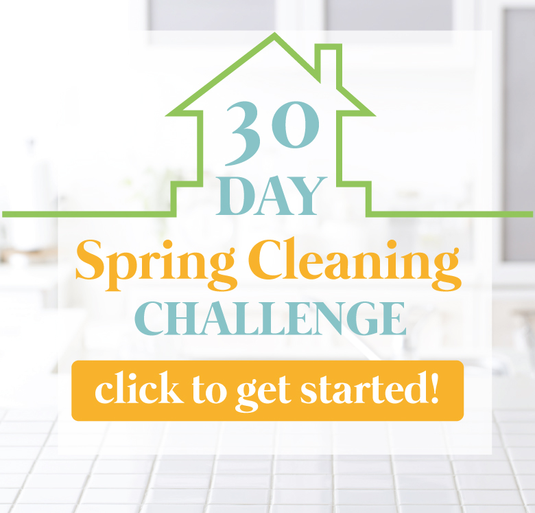 Day House Spring Cleaning Challenge | https://diyprojects.com/cleaning-challenge-30-day-spring/
