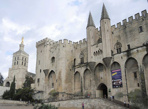 France-Avignon-cathedral - The cathedral in Avignon, France, dates from the 12th century.
