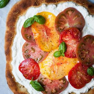 Heirloom Tomato & Ricotta Pizza