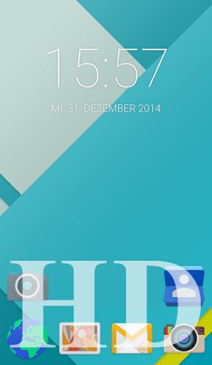 Lollipop Launcher Tema