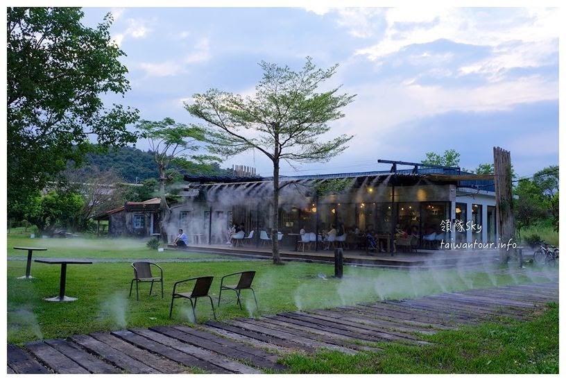 宜蘭美食推薦【天ㄟ咖啡館】冬山鄉梅花湖畔輕鬆自在