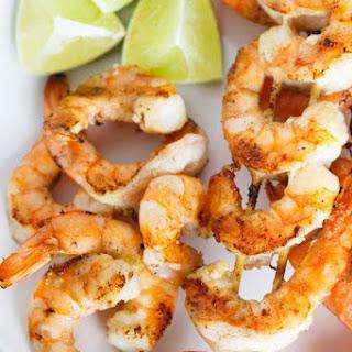 Salted Lime Butter Grilled Shrimp Skewers Recipe