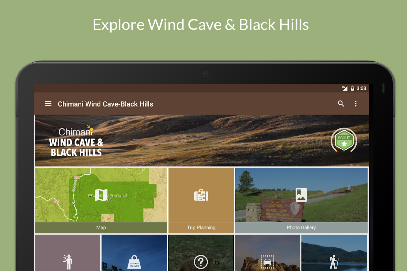 Wind Cave-Black Hills Chimani- screenshot