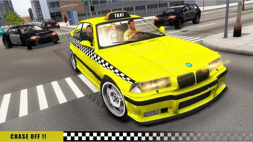 Mobile Taxi Car Driving Games Police Car Simulator 1.4 screenshots 6