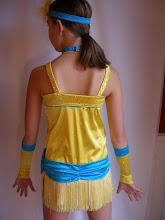 Photo: Back of costume on Child Large.  Pam@act2dancecostumes.com