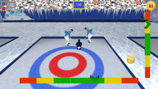 Curling With Penguins 3D