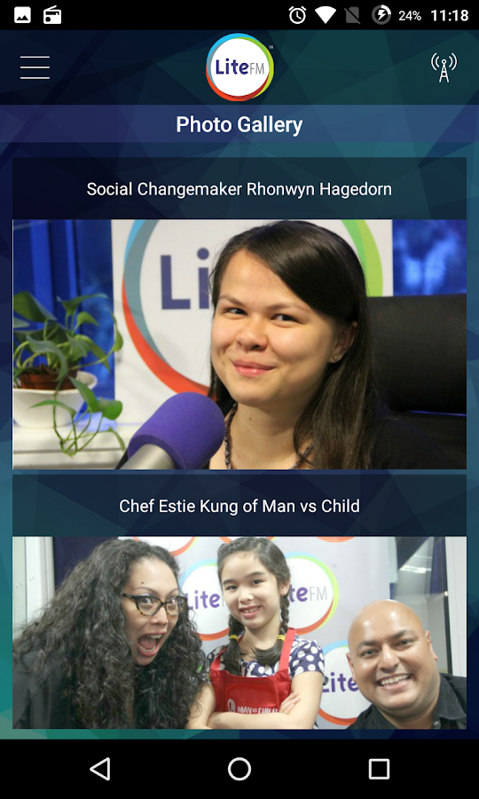 LiteFM- screenshot